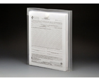 VEL-CLOSE-R™ Clear Poly Envelopes with Gusset, Letter, Top Load, 6ea/pack