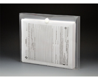 VEL-CLOSE-R™ Clear Poly Envelopes with Gusset, Letter, Side Load, 6ea/pack