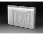 VEL-CLOSE-R™ Clear Poly Envelopes with Gusset, Legal, Side Load, 6ea/pack