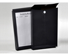 FILE-N-SEND™ 10 x 15 Inter-office Poly Envelopes, Opaque Charcoal Gray (Black), 6ea/pack