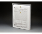 STRING-A-LONG™ Clear Poly Envelopes with Gusset, Letter, Top Load, 6ea/pack