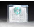 STRING-A-LONG™ Clear Poly Envelopes with CD pocket, Letter, Side Load, 6ea/pack