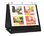 INSTA-COVER® Ring Binder Easel, 3/4 Inch Ring