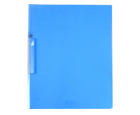 CLEAR-LINE™ Swing Lock Report Cover, Transparent Blue