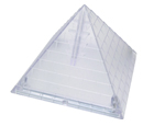 Pyramid Shaped Blade Disposal Case with Blade Snapper