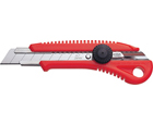 Heavy-Duty ABS Anti-Slip Contoured Grip Screw-Lock Utility Knife