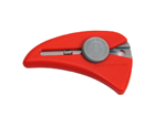 Self-Retracting Mini Safety Knife, Red