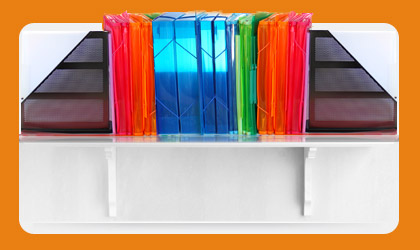 File Folders, Clear Poly Folders & Display Products