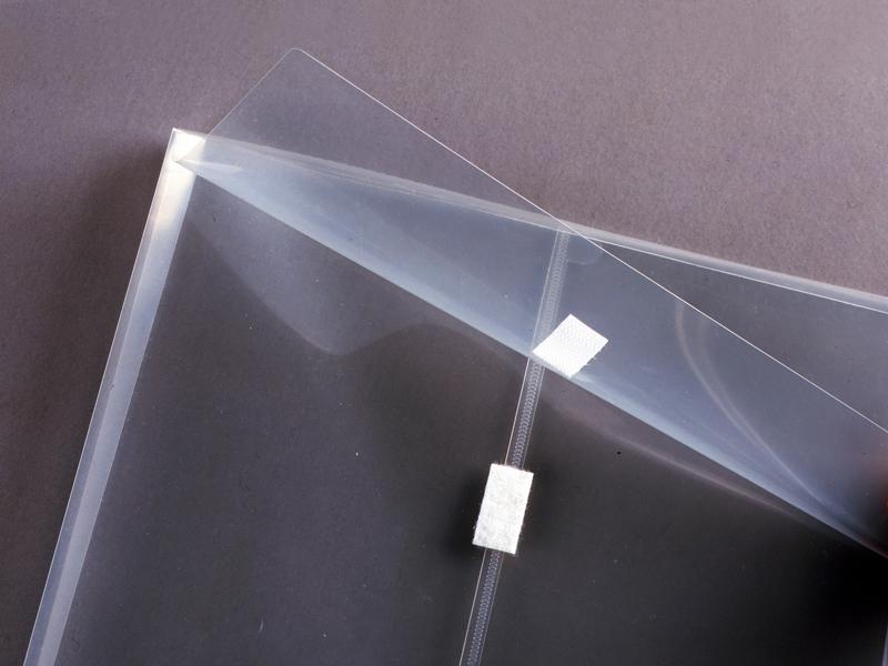 Clear Plastic Envelope With Velcro 12 X 12 Envelopes