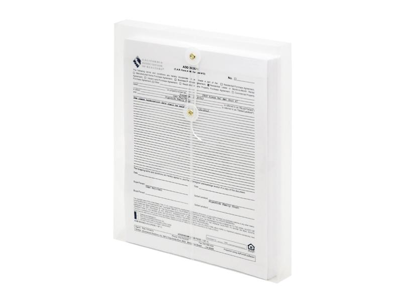 clear plastic envelopes with string letter size envelopes top