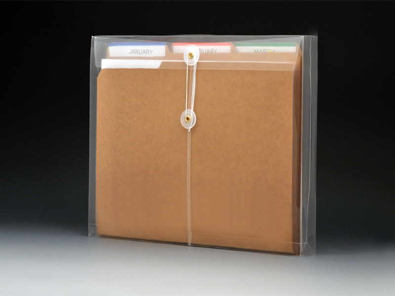 Clear Plastic Envelopes With String Letter Size Envelopes