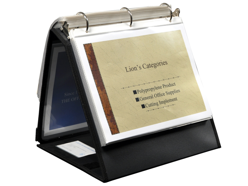 presentation ring binder easel 1 1 2 inch ring