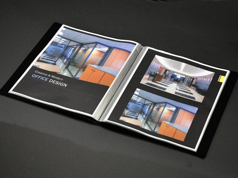 Art portfolio presentation book