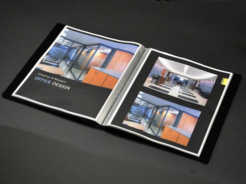 Art Portfolio Presentation Display Book 36 Pocket Black