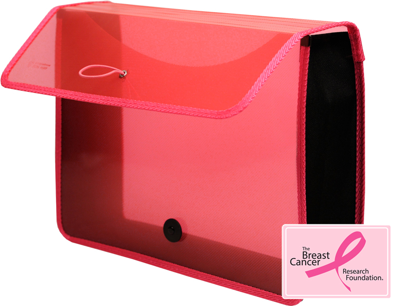 Letter size poly expanding wallet pink wallet for Expanding wallet letter size