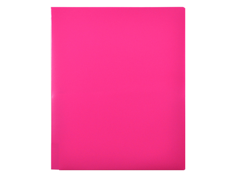 2 Pocket Plastic Folders Pink Pocket Folders 91100hp on business card cutter