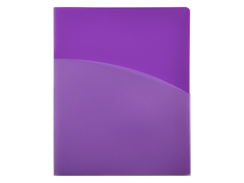 4 Pocket Folder Purple Pocket Folder