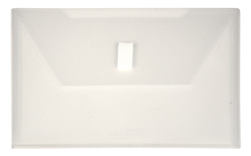 Clear Small Plastic Envelope With Velcro 6 X 9 Envelope