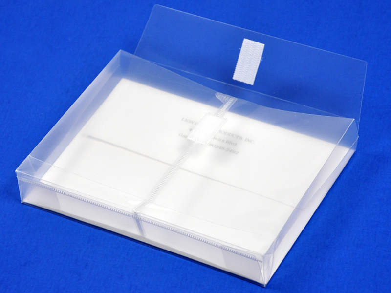 Clear Small Plastic Envelope With Velcro 5 X 7 Envelope