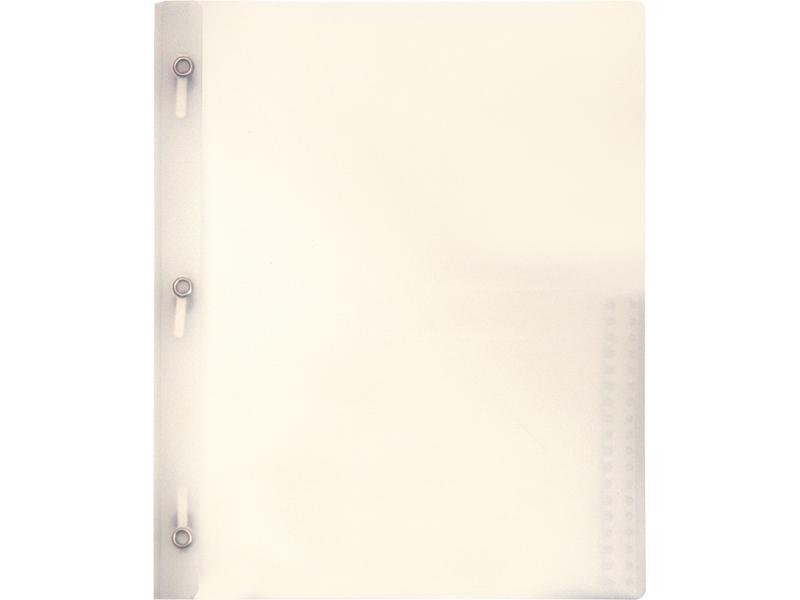 2 Pocket Plastic Folder With Fasteners Clear Plastic Folder