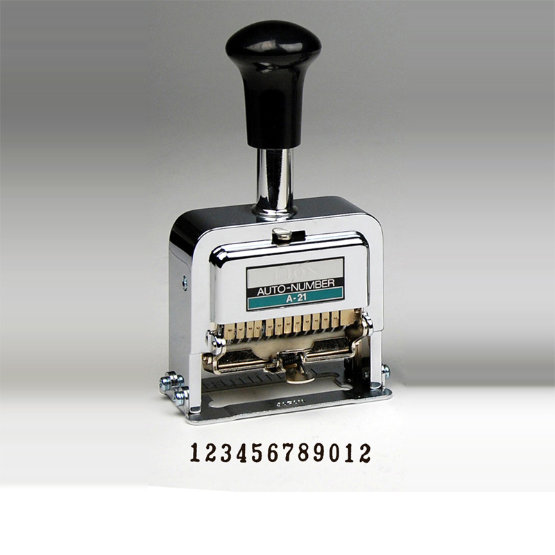 Heavy Duty 12 Digit Automatic Numbering Machine