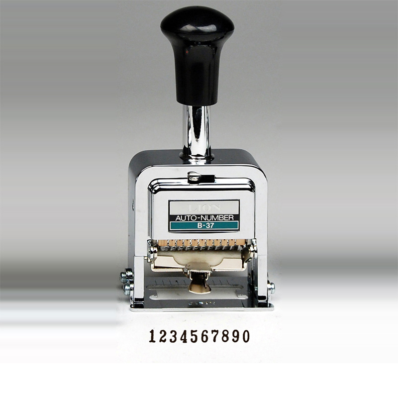 Heavy Duty 10 Digit Automatic Numbering Machine