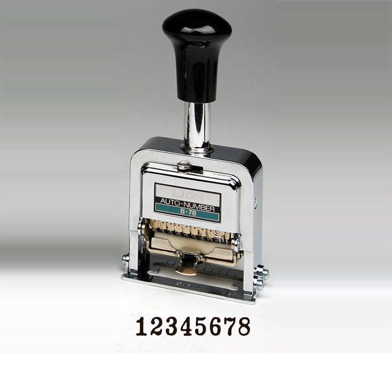 Heavy Duty 8 Digit Automatic Numbering Machine