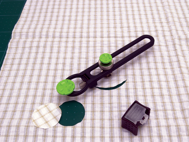 Fabric Circle Cutter 1 3 16 8 11 16 Diameter