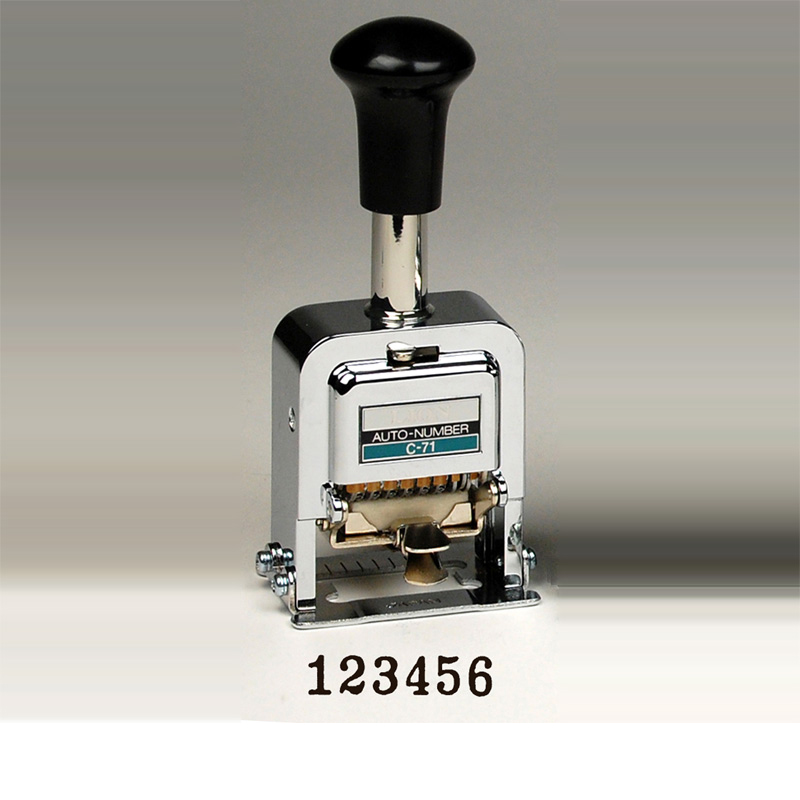 automatic numbering machine