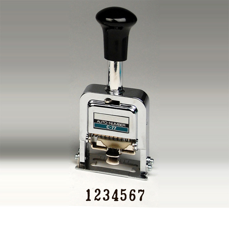 Heavy Duty 7 Digit Automatic Numbering Machine