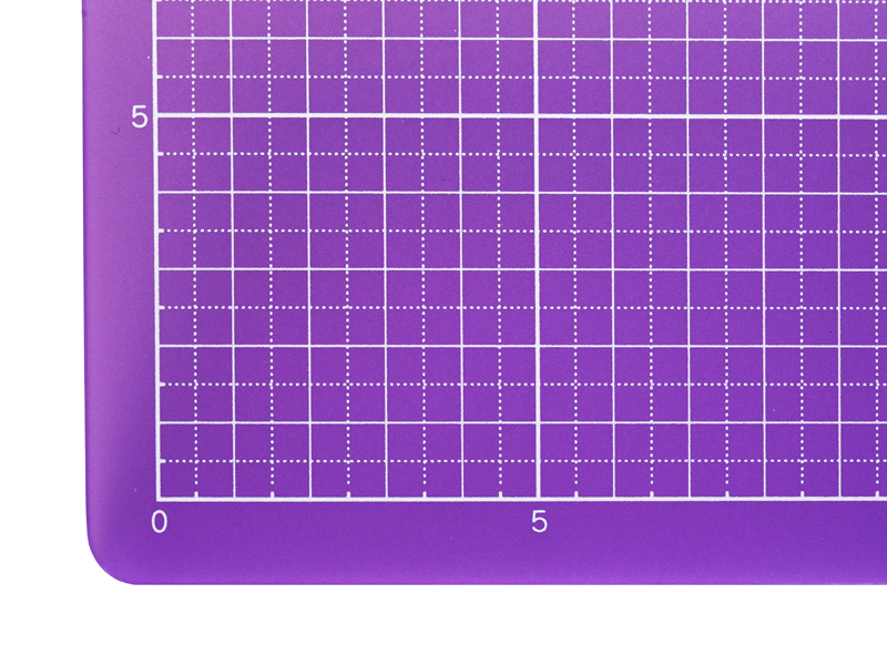 Colorful Translucent Cutting Mat 9 X 12 Translucent Purple