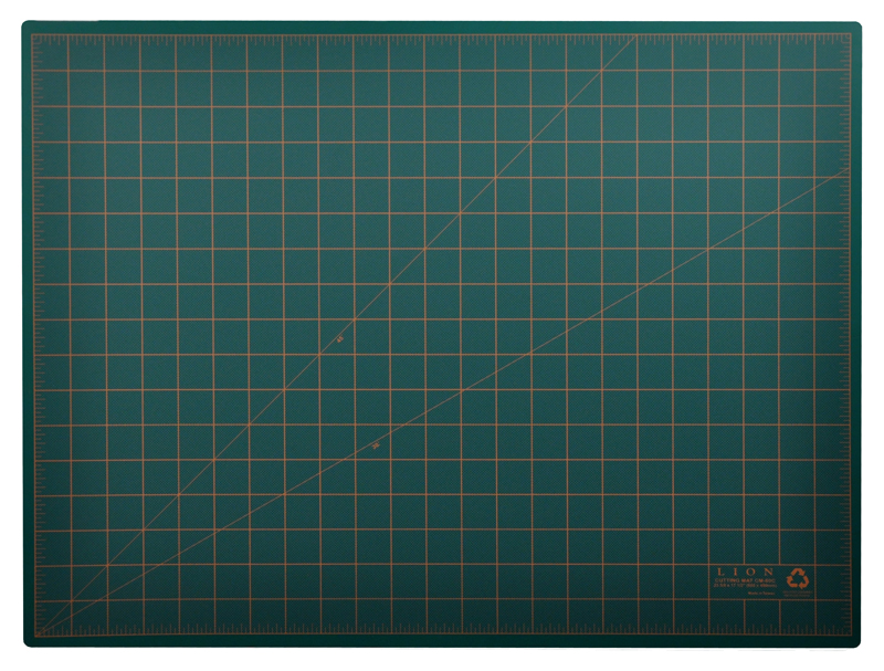 Post Consumer Recycled Large Cutting Mat 18 X 24 Green