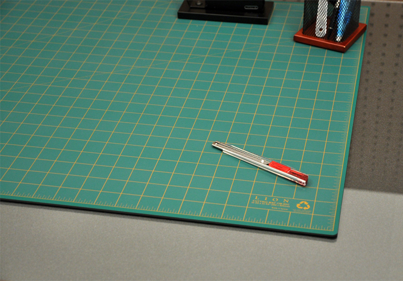 Post Consumer Recycled Large Cutting Mat 24 X 36 Green