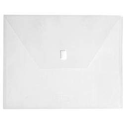 11 x 14 Clear Plastic Oversized Envelope with Velcro