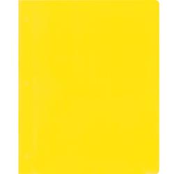 Yellow pocket folder