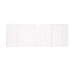 Plastic Pocket Dividers, 5-tab, Double Pocket
