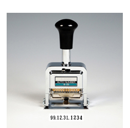 Automatic Numbering and Dating Machine, Date stamp