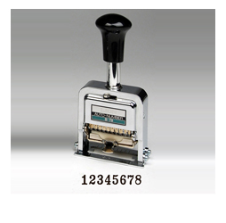 Heavy-Duty 8-digit Automatic Numbering Machine