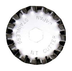 Rotary Wave Blades for Rotary Cutter and Fabric Circle Cutter