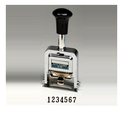 Heavy-Duty 7-digit Automatic Numbering Machine
