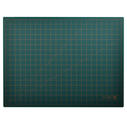 Post Consumer Recycled Large Cutting Mat, 18 x 24, Green