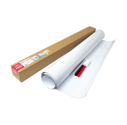 Dry Erase, Magnet Receptive Whiteboard Sheet with Micro-Suction Technology, Super Large (35