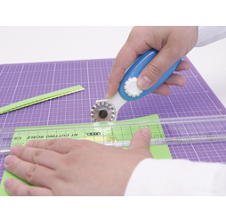 Retractable Blade Rotary Wave Cutter